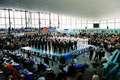 Ceremonia otwarcia XXX Mistrzostw Polski Kyokushin rozpoczęła się od uderzeń w bęben Taiko