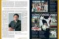 p.4: Kyokushin Eternal - Kancho Matsui talks about the future of Kyokushinkaikan<br>p.5: 17th European Championships Uzhgorod 2003
