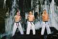 Taki abi - trening pod wodospadem