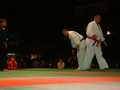 European Open Category Championships Wroclaw 2002<br>final: Banasik vs Najduch<br>mawashigeri-gedan wazari: Najduch